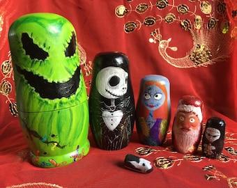 NBC themed Russian dolls