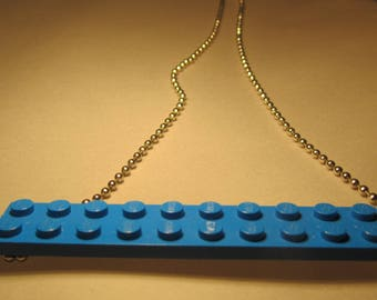 Creat ' LEGO' necklace ' Y. O.N - fun and funny.