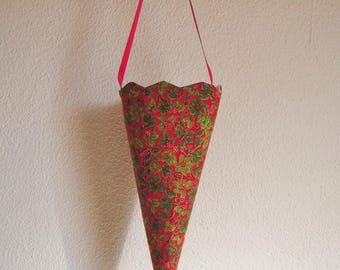 Christmas decoration, candy, hanging Cone
