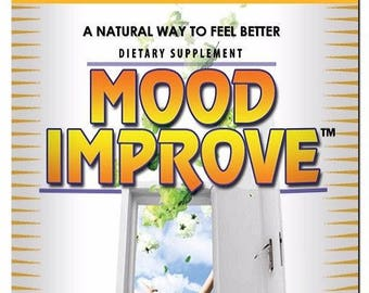 Mood Improve 30 Capsules, mood support, natural, herbal, supplement, POWERFUL, 30 or 60 capsules