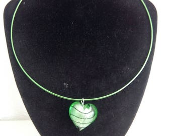 Green Aluminum collar