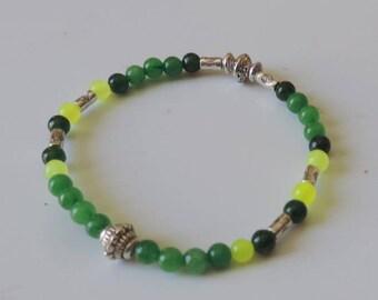 Tibetan beads and agate Beads Bracelet