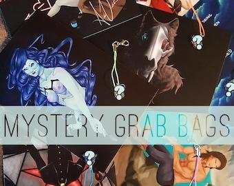 Mystery Mini Print + Charm Grab Bag