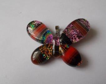 beautiful glass pendant style murano 45 x 32 mm
