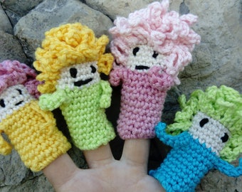 Little puppet for small fingers :-)