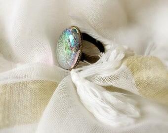 Fantastic color Bohemian bead Adjustable ring