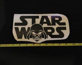 Stars Wars Darth Vader Black Decal