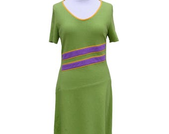 Dress open - hemp and cotton - size 40 only