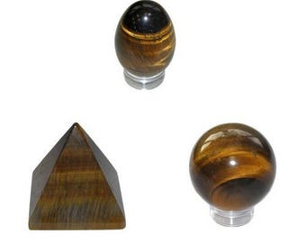 Composition feng shui Tiger eye