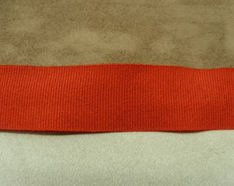 Ribbon grosgrain decorative - 2 cm - Red