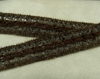 FANCY Ribbon - 2 cm - Brown
