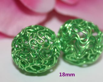 1 Pearl green 18mm - SC51013 - round wire