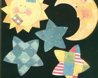 Lot 5 decorations wallpaper Klumpies Sun Moon stars