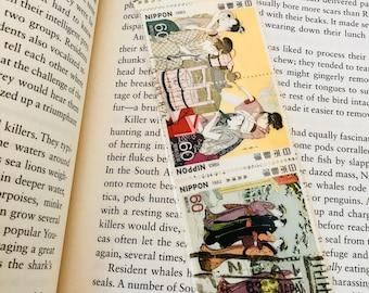 Geisha Postage Stamp Bookmark
