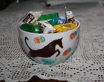 Greyhound candy Bowl