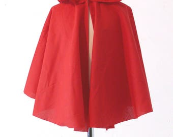 Red Cape adult Red Riding Hood costume