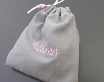 Contact ME with personalized favors for baptism, wedding, FUCHSIA purse