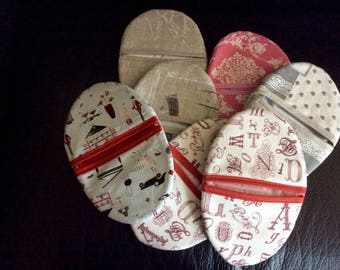 Pot holders made in various cottons