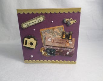 "Card for various occasions ""memories"""