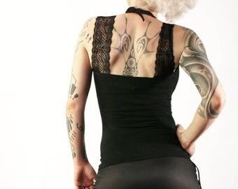 Skirt boom black/red blink 'pin up' up trash clothing