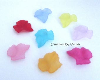 Set of 20 charms colorful sheet of 1.5 cm