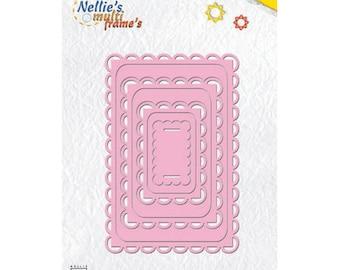 7 Dies rectangle frames lace 7, 7 x 11, 5 cm_MFD048