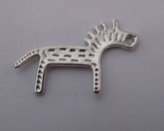 set of 14 charms horse/Zebra.