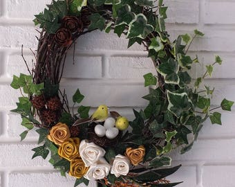 Garland to welcome spring