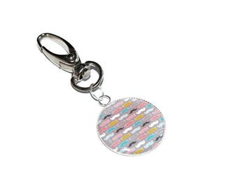 """Grigri Keychain colorful """"whiskers"""""""