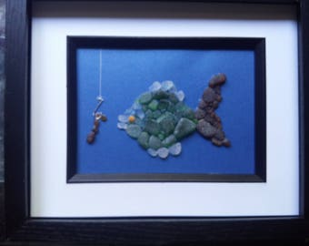sea glass fish picture
