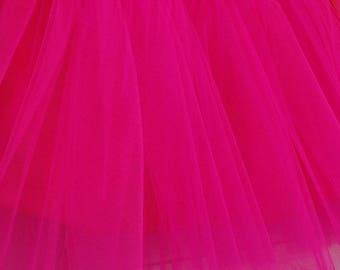 tutu pink stiff tulle fabrics
