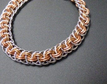 Viper Basket Chainmaille Bracelet