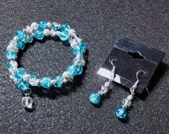 Wrap Bracelet w/Earrings