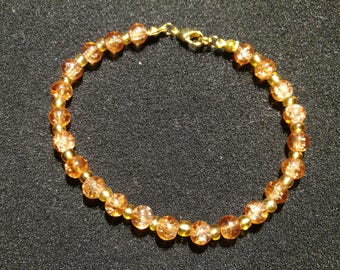 368.  Beaded Bracelet (Gold-Plated)