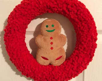 Gingerbread Peep Wreath