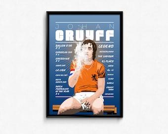 Johan Cruyff Illustration