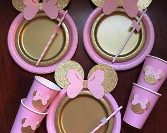 Anastasia Kaketsi 3 full sets Minnie gold and pink