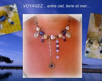 NECKLACE between heaven and Earth and sea! ***