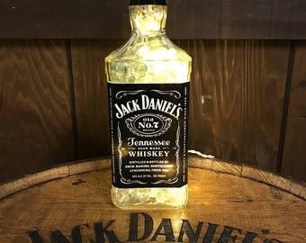 Jack Daniels Lamp/Light, 1.75 LITER-Man Cave, Bar Decor