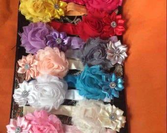 Baby girls headbands set