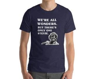 We're All Wonders Stevie Wonder T-Shirt choose kind movie wonder love kindness superstition higher ground sir duke anti bullying funny shirt