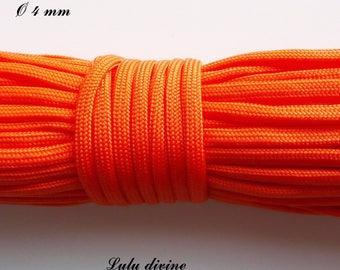 Cord / Paracord 4 mm 550: Orange
