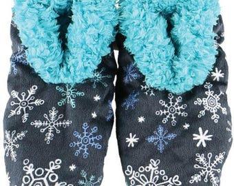 Fuzzy Feet Falling To Sleep Slippers