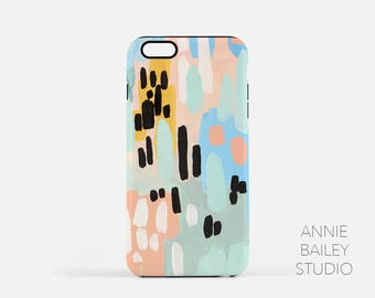 iphone case, cell phone case, cell phone accessories, abstract art, abstract painting, modern, colorful iphone case, phone cases, iphone 7