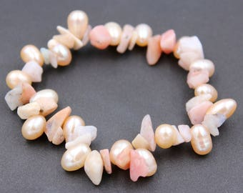Rose Quartz Beads Bracelet