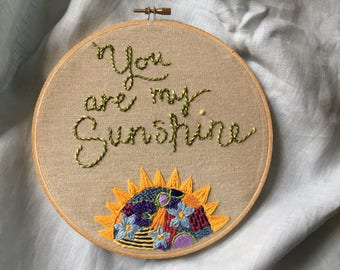 "Wall Hanging - ""You Are My Sunshine"""