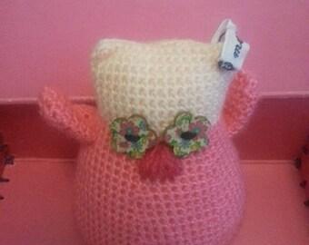 Very nice owl 100% handmade crochet