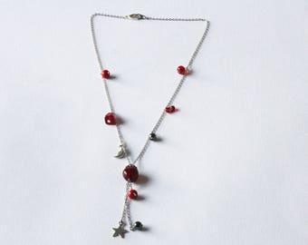"""Algieba"" color chain necklace"