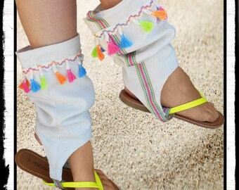 """""""WTF"""": flip flops with spats were woman"""