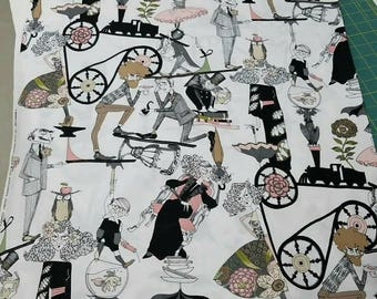 The GHASTLIES The End in Natural Alexander Henry; half yard or yard cuts new 100% cotton quilting fabric